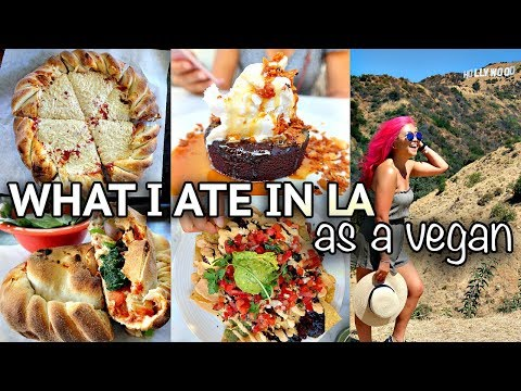 WHAT I ATE AS A VEGAN (LA edition!) // Vegan Around the Worl