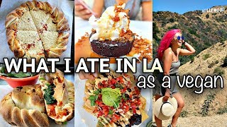 WHAT I ATE AS A VEGAN (LA edition!) // Vegan Around the World #12