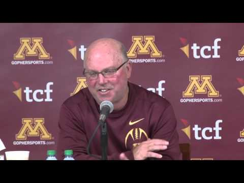 Full Press Conference: Jerry Kill Retires as Gopher Football Head Coach