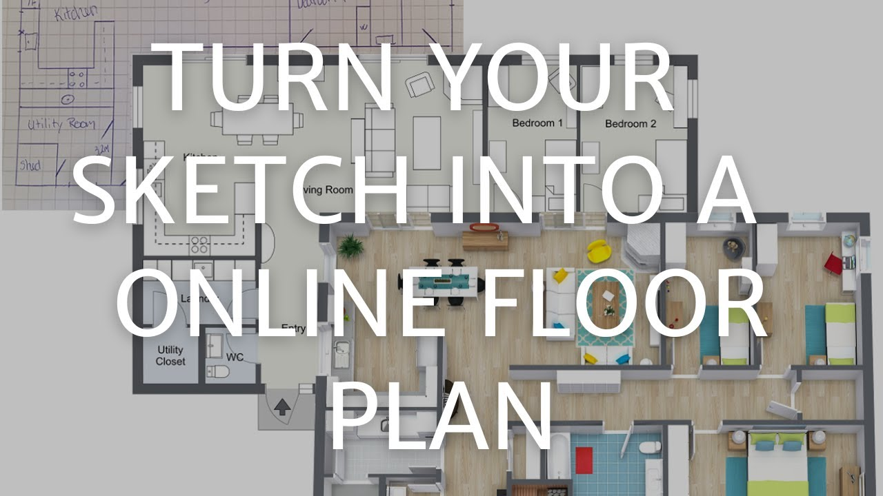 Turn A Paper Sketch Into A Professional Online Floor Plan