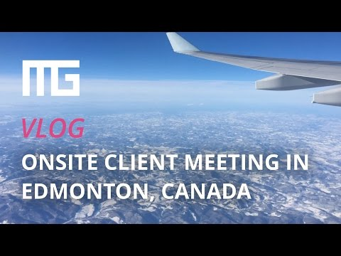 Vlog: Onsite WordPress development client meeting in Edmonton, Canada