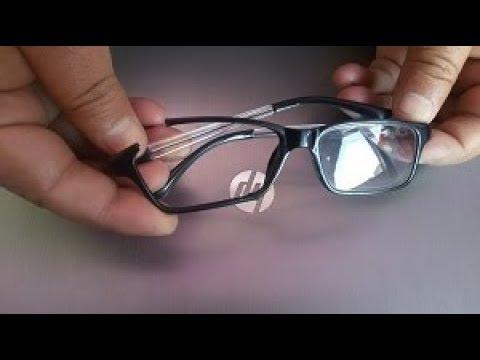Repair broken eyeglasses frame at home | How to Repair scratch eyeglass