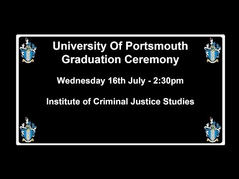 Graduation 2014 Institute of Criminal Justice Studies