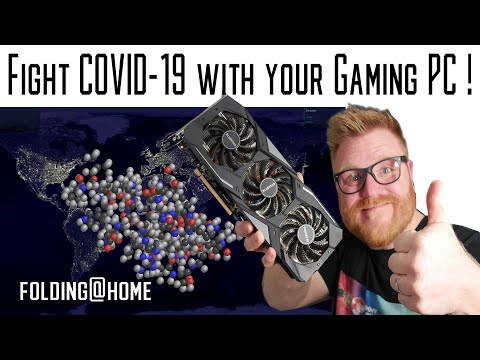 You Can Help Fight COVID-19 Using Your Gaming PC!