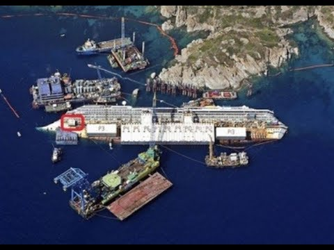Titans Salvage & Microperi - Wreck removal of the Costa Concordia