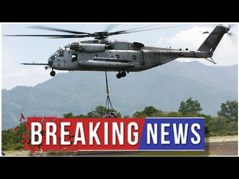4 Marines killed in helicopter crash near US-Mexico border