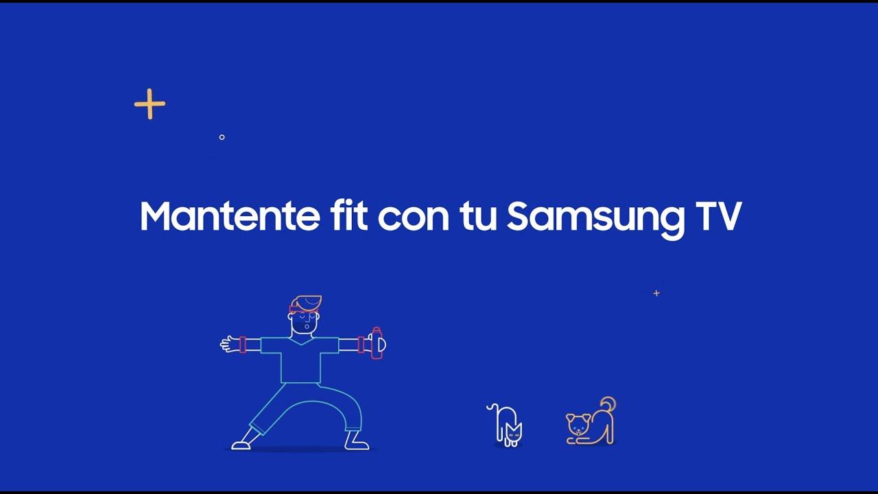 Samsung - Mantente fit con tu Samsung TV