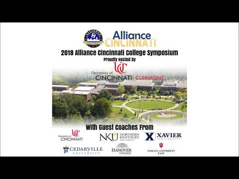 2018 Alliance Cincinnati College Symposium