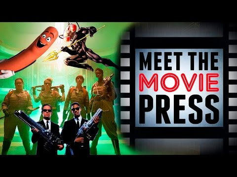 Ghostbusters/MIB Crossover?, Sausage Party Reviewed and More Headlines | Meet the Movie Press