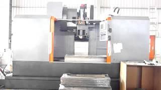 Вертикальный фрезерный обрабатывающий центр Winner VMC-L1601. Video4.