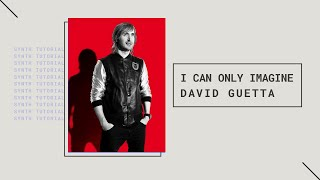 "David Guetta ""I Can Only Imagine"" - Making The Beat"