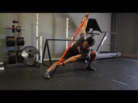 Ninja Lunge Mobility Flow Level 5 Stick Mobility Exercise