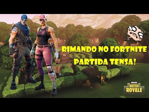 Fortinite - Battle Royale - Partida Tensa! feat. Davy