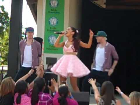 Ariana Grande at the Fresno Fair 10.13.12 - You're My Only Shorty