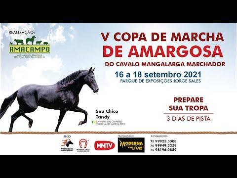 🔴 V COPA DE MARCHA DE AMARGOSA-BA - 2021 (DIA 16)
