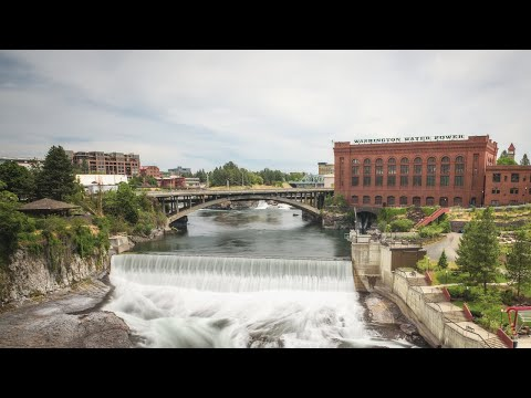 Spokane Falls Gondola & Exploring Downtown Spokane Washington | Spokane Vlog Part 2