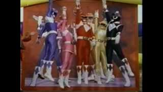 "Mighty Morphin Power Rangers ""We Need A Hero"" Music Video"