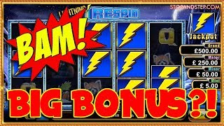Back in the UK with BIG Bonuses on NEW Slots!