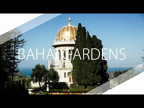 Drone Video Of The Bahai Gardens In Haifa - Experience Israel By Drone