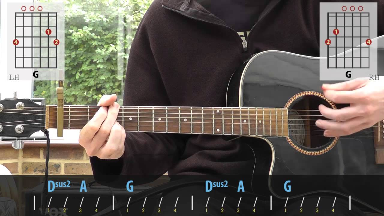 Smashing Pumpkins Today Acoustic Guitar Lesson Youtube