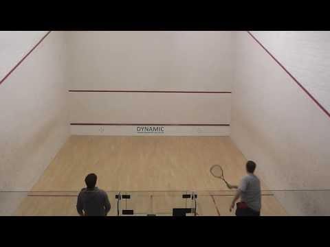 Norfolk squash  Hugh Wolfenden  V Adam Piddock  league game 000 1