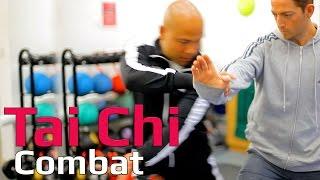 Tai chi combat tai chi chuan - tai chi How to combine hand and feet. Q25