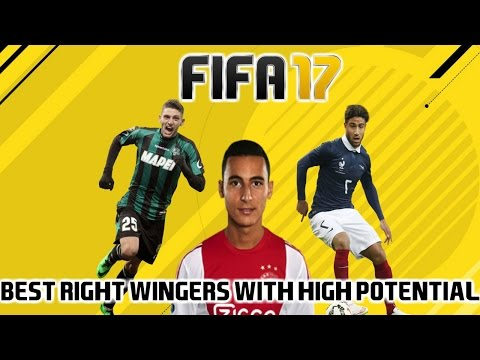 FIFA 17: BEST RIGHT WINGERS WITH HIGH POTENTIAL ON CAREER MODE (16-22!)
