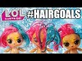 LOL Surprise #HAIRGOALS GET WET | L.O.L. Makeover Series What Happens to Doll Hair in Water