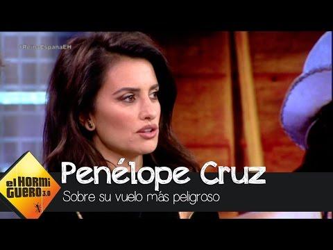 Penélope Cruz nos cuenta cómo fue el día en que estuvo a punto de perder la vida - El Hormiguero 3.0
