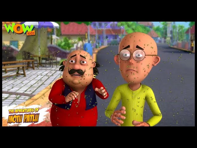Kids TV Shows | Cartoons | Motu Patlu New Episodes | Machhron Ka Humla  | Wow Kidz