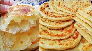 recipe of Mssemens and Melwis are Moroccan pancakes