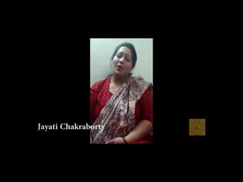 Singer Jayati Chakraborty talking about Lalitkala and Guruji