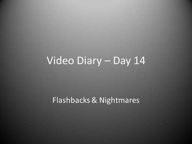 Day 14 : Flashbacks & Nightmares