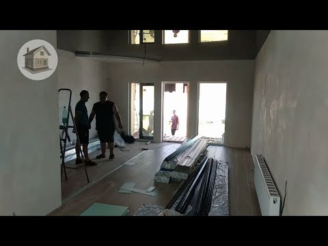 Обзор дома из сип панелей 140м2 с внутренней отделкой, Георгиевск