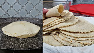 How To Make Soft Corn Tortillas   Easy Recipe for Corn Tortillas
