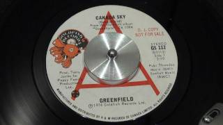 GREENFIELD - Canada Sky - 1974 - GOLDFISH