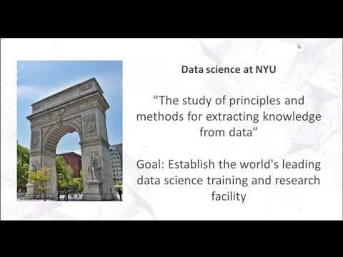 NYU Master's in Data Science Webinar