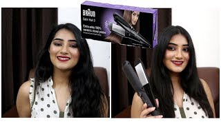 Braun Satin Hair 3 ST 310 unboxing, Review & First impressions | Amazon Prime India