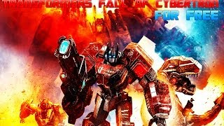 How to Get Transformers: Fall of Cybertron For Free For PC! + Gameplay!