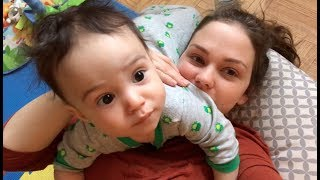 24 HOURS WITH A BABY (7 MONTHS OLD)