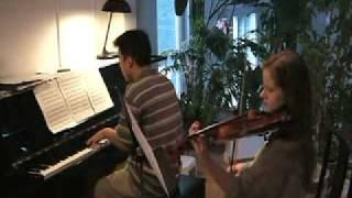 Project TK .hack//sign Say Goodbye Violin Piano Duet