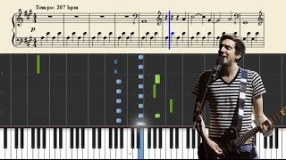 Chasing Cars (Snow Patrol) - Easy Piano Tutorial