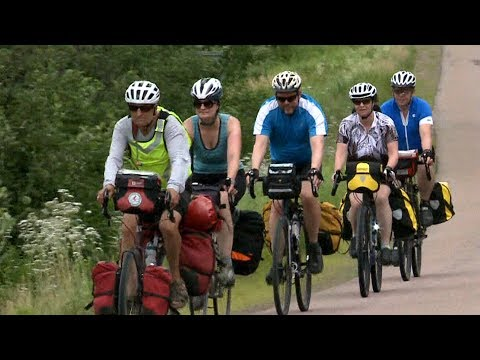 Maritime man continues late wife's mission for safer cycling