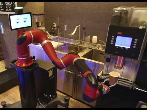 Robot Makes Coffee At New Cafe In Japans Capital
