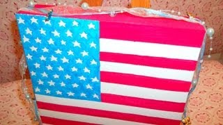 Painting the world ep. USA part 1: the flag
