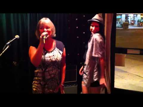 Kiki and Jewel At Relish Bar & Grill. Thursday karaoke.
