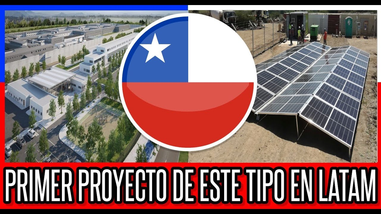 Prision Chilena con Proyecto Fotovoltaico 🔴 #Chile #Valparaiso #ViñaDelMar #BioBio #GranSantiago
