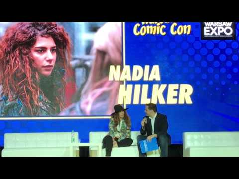 """Nadia Hilker on her role at """"The 100"""" - Comic Con Warsaw 2017"""