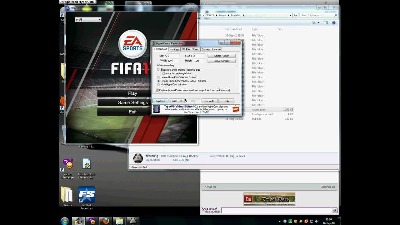 Fifa 11 video settings site fifa manager 2008