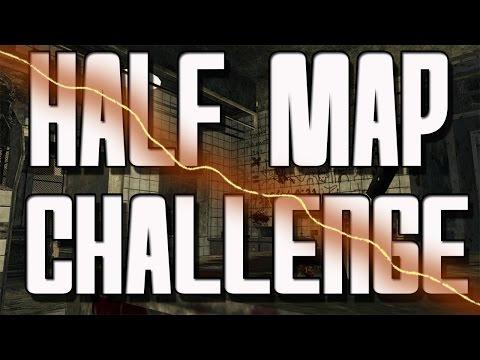 """""""Black Ops Zombies"""" ★ HALF MAP Challenge on Verruckt"""
